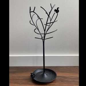 """18"""" Jewelry Holder with Ring Dish"""